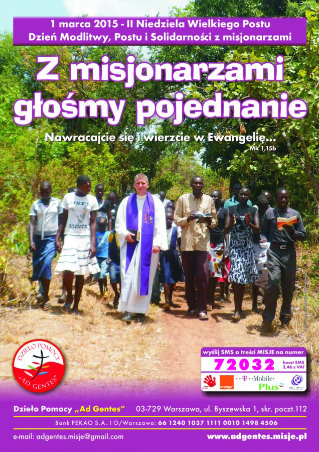 Z misjonarzami głosimy pojednanie