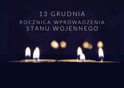 Ofiarom stanu wojennego Zapal Światło Wolności