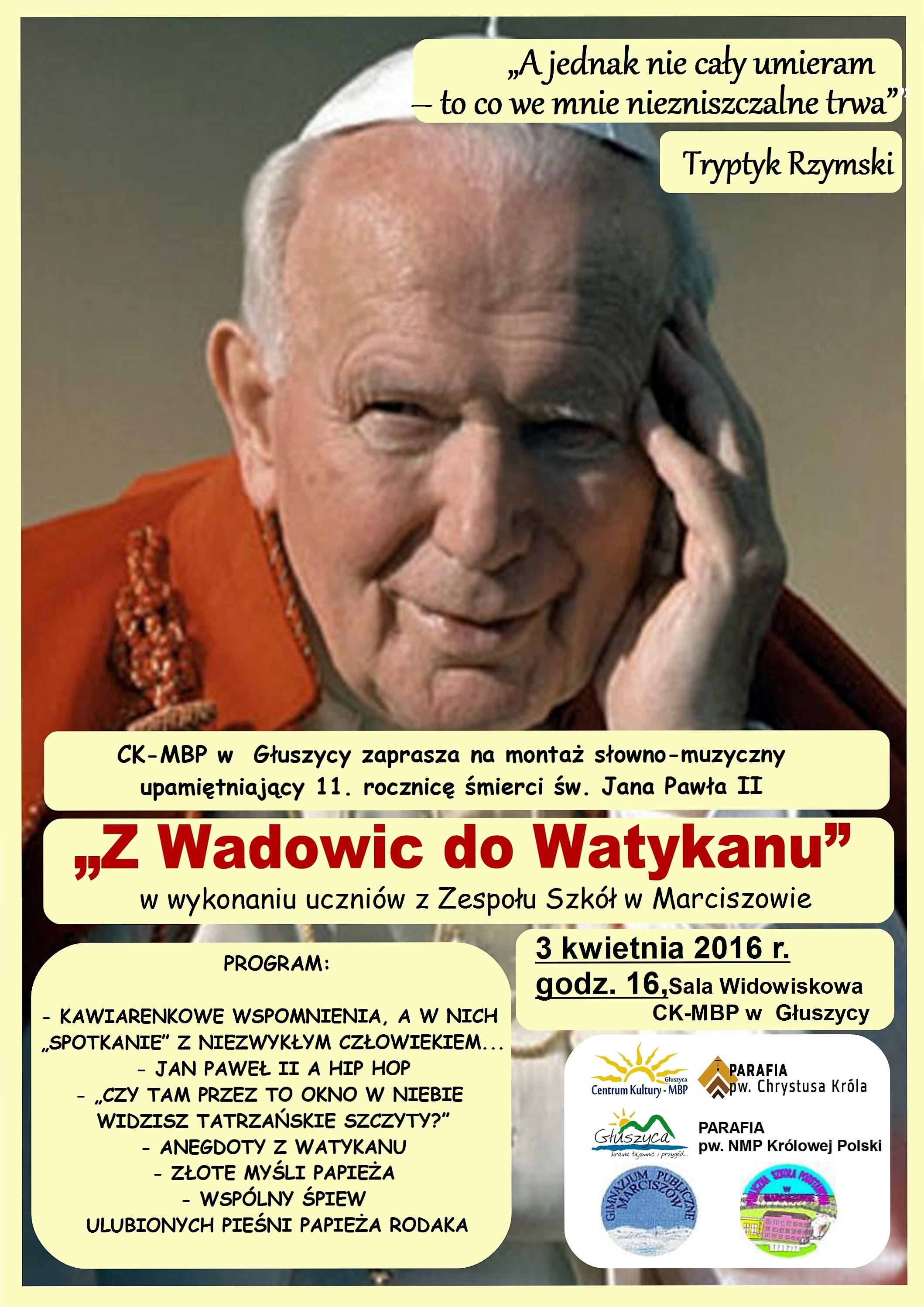 Z Wadowic do Watykanu_01
