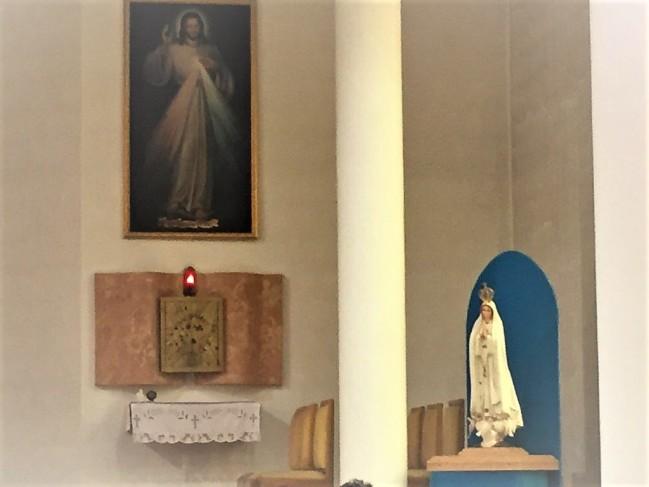 Matka Kościoła pełni posługę miłosierdzia