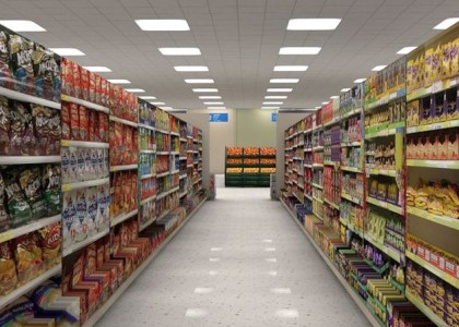 """MANDATORY CREDIT: figuredigital.com/Rex Features  Mandatory Credit: Photo by figuredigital.com/REX (3666105a)  Virtual reality Tesco supermarket  Virtual Reality Lets You Browse Shelves Of Supermarket From Home  Browsing the aisles of your supermarket could soon be a matter of donning a pair of high-tech virtual reality glasses.    British creative agency FIGURE Digital have created a jaw-dropping immersive walk-through of a Tesco superstore so realistic it feels as if you can pick items from the shelf.    Their work points to a future where the element of browsing is bought back into online shopping. The company also suggest benefits for the elderly or those who are confined to the home.    WATCH VR TESCO WALKTHROUGH: http://www.youtube.com/watch?v=08S86X_5Crs    Joe Kletz, creative director of FIGUREDigital.com, explains: """"When we created this virtual Tesco's we were imagining a future in which virtual reality headsets were as familiar as a television set is to the average Joe today.    """"What with Sony announcing the new PlayStation VR headsets this month, this is not far-fetched sci-fi anymore, but a reality that WILL exist in 2015. Everybody that is currently buying a PlayStation 4 will want the new VR headset next year.    """"That means that millions of consumers will be able to shop in virtual supermarkets such as the one we created - which will be particularly useful for the infirm, the elderly and those who want a far more realistic online shopping experience from the comfort of their own homes.    """"This is a realistic and highly probably scenario that we will see many of the major high street stores and big supermarkets make into a reality in the very near future.""""    To step into the virtual supermarket, users don on a pair of Oculus Rift glasses. The virtual reality headset lets you step inside virtual worlds, using technology to provide 360o head tracking, allowing you to seamles...  For more information visit http://www.rexfeatures.com/stacklink/KYEGDIVL"""