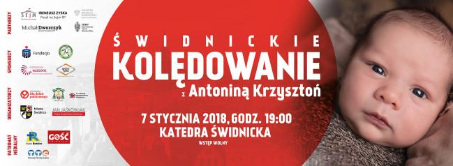Świdnickie kolędowanie z Antoniną Krzysztoń